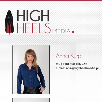 Miniatura strony www: High Heels Media